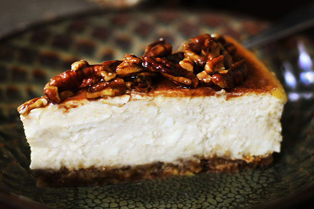 Alice Currah's Cinnamon-Pecan Cheesecake Image 1
