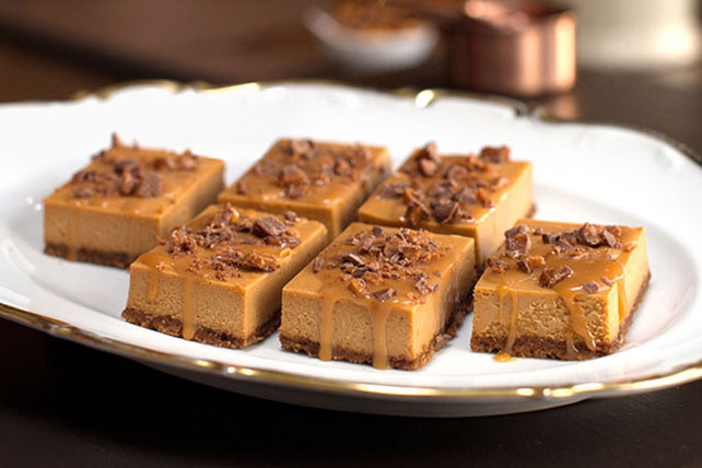 Sandra Lee's Triple-Caramel Cheesecake Image 1