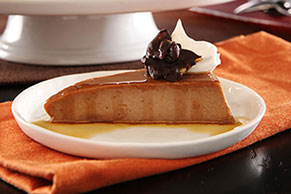 Chocolate-Pumpkin Flan