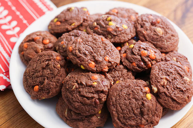 Chocolate-Peanut Butter Pudding Cookies Image 1