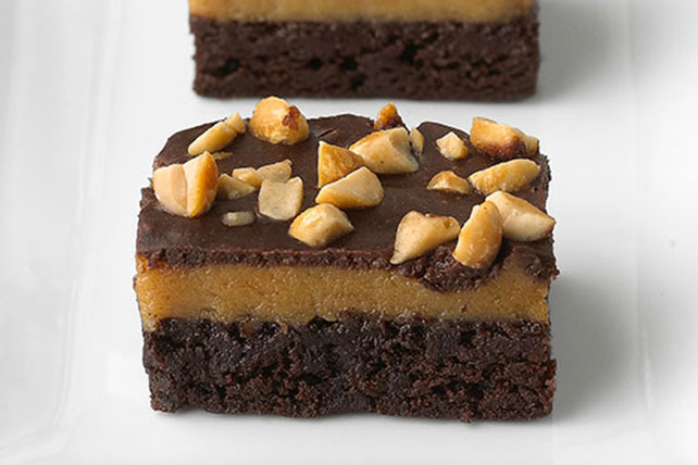 White Chocolate Crunch Peanut Butter Brownies Image 1