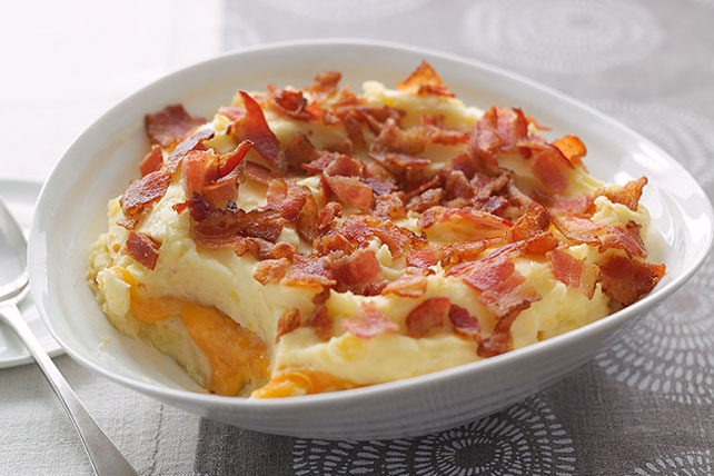 Smart-Choice Cheddar-Mashed Potato Casserole Image 1