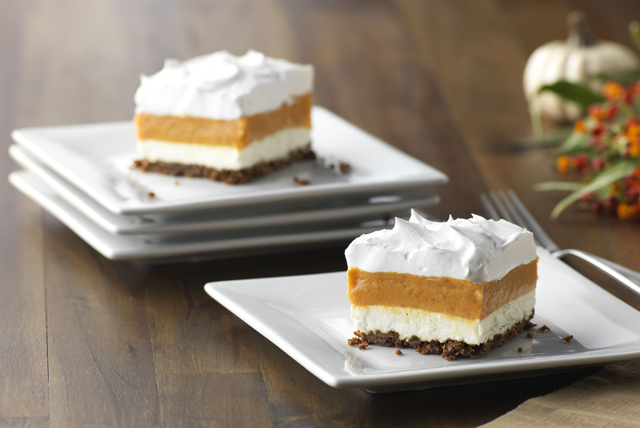 Layered Pumpkin-Gingersnap Dessert Image 1