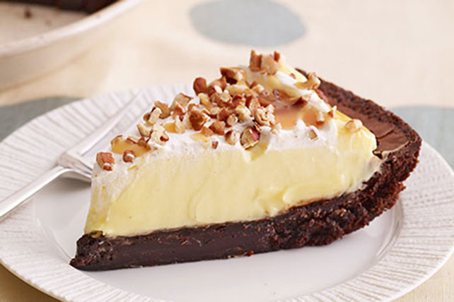 Smart-Choice Turtle Brownie Pie Image 1