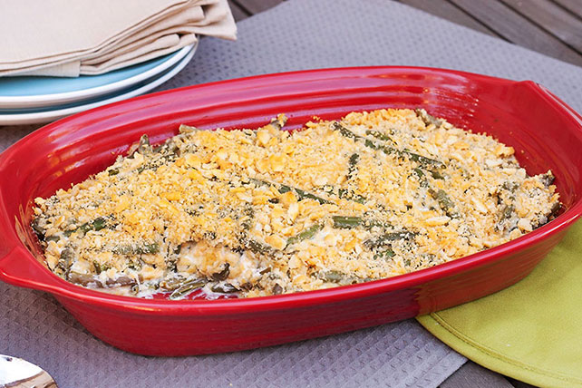 Cheddar-Green Bean Casserole Recipe - Kraft Recipes