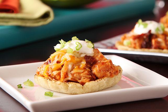 Minisopes de pollo con salsa para asar Image 1
