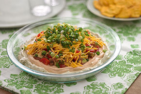 HEALTHY LIVING Six-Layer Dip