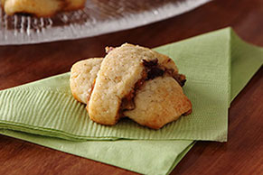 Pumpkin-Pecan Cream Cheese Crescent Cookies