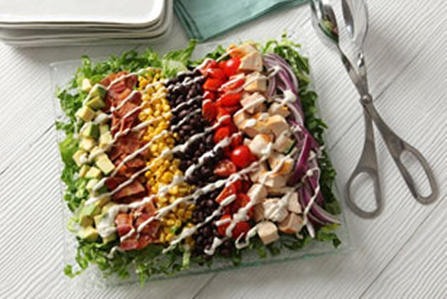 Rainbow Chopped Salad Image 1