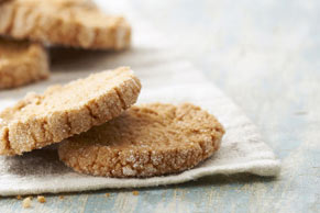Sugar-Crusted Ginger Cookies