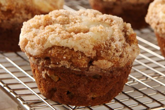 Muffins à la citrouille et à la pomme façon streusel Image 1