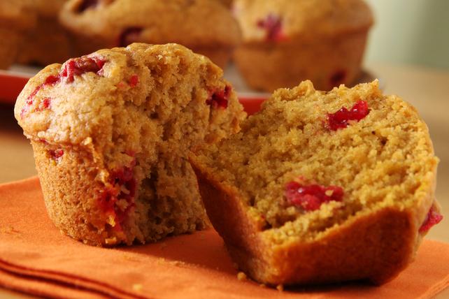 Muffins à la citrouille et aux canneberges Image 1