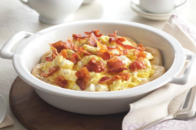 Pastel de huevos con tocino Image 1