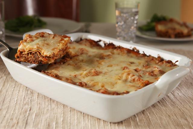 Cheesy Beef & Eggplant Lasagna Image 1