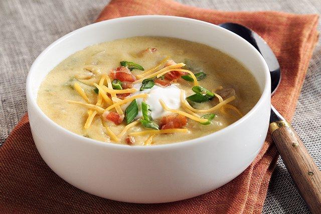 Sopa de papas con tocino Image 1