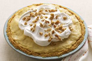 Easy Peanut Butter-Banana Cream Pie