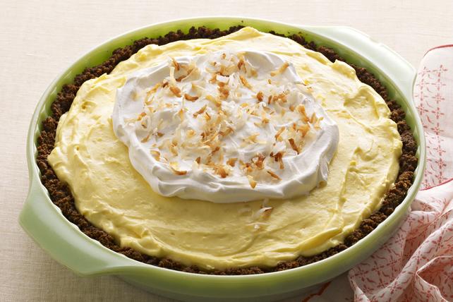 Tarte à la crème au citron et à la noix de coco facile à préparer Image 1