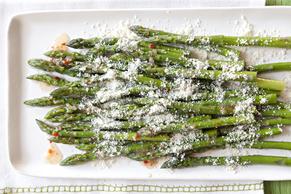 Quick Parmesan Asparagus