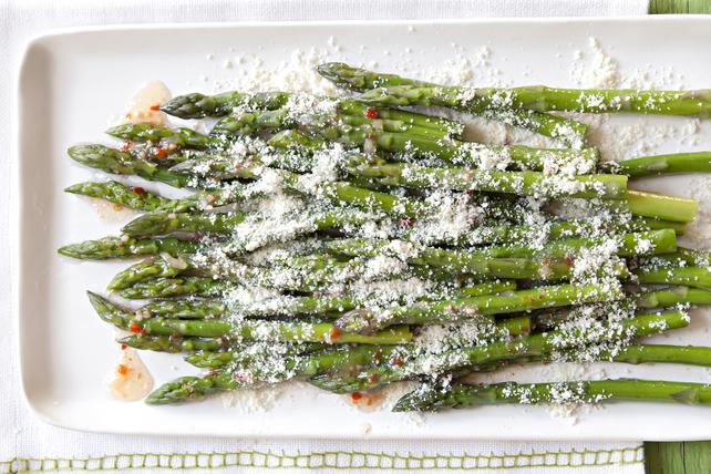 Quick Parmesan Asparagus Image 1