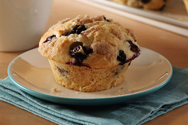 Blueberry Streusel Muffins Image 1