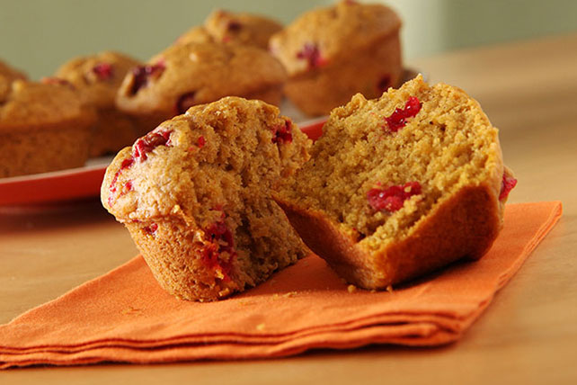 Pumpkin-Cranberry Muffins Image 1