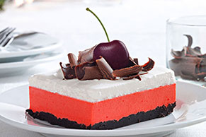 Cherry-Chocolate Layered Dessert