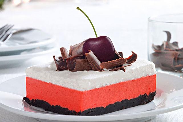 Cherry-Chocolate Layered Dessert Image 1