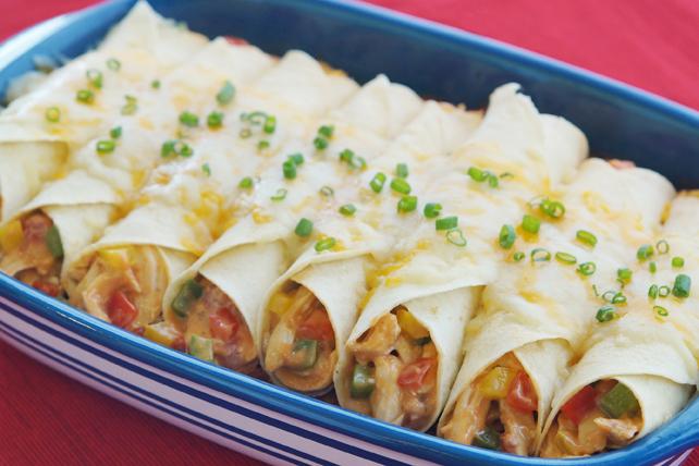 Enchiladas au poulet crémeux Image 1