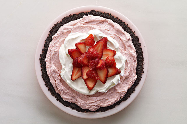 Easy Strawberry Cream Pie Image 1