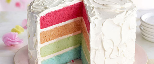 Rainbow Layer Cake