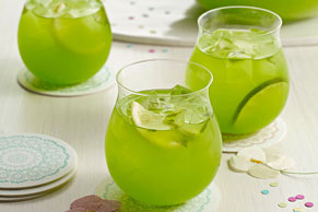 Sparkling Pineapple-Lime Punch