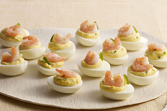 Deviled Eggs with Shrimp Image 1