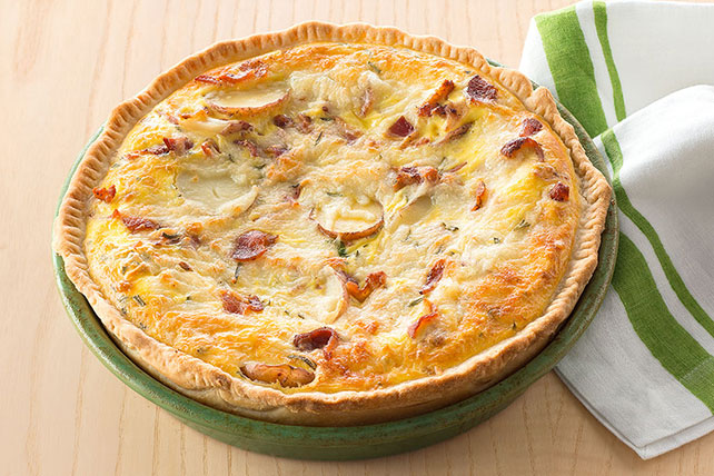 Potato & Bacon Quiche Image 1