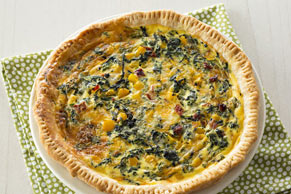 Quiche vegetariano