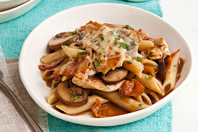 Chicken and Mushroom Pasta Image 1