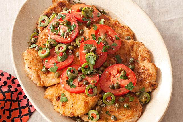 Milanesas de pollo con alcaparrado Image 1