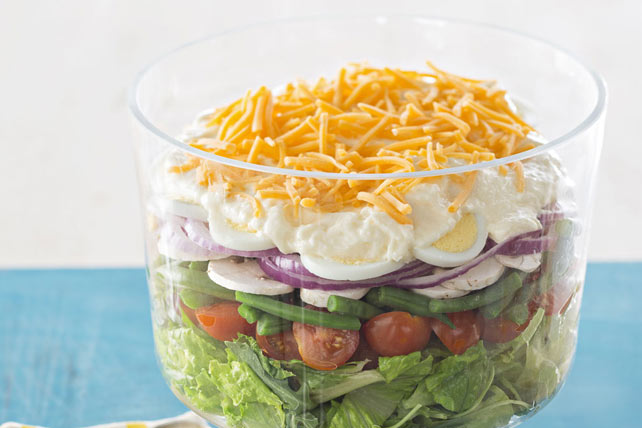 Lovely Layered Salad Image 1