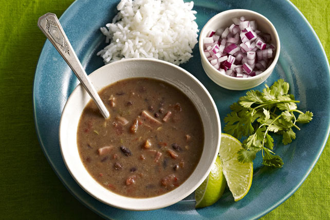 Slow-Cooker Cuban Black Bean Soup Image 1