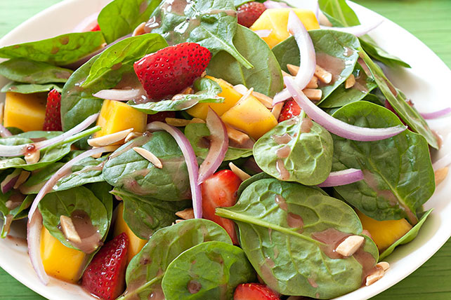 Berry, Mango and Spinach Salad Image 1