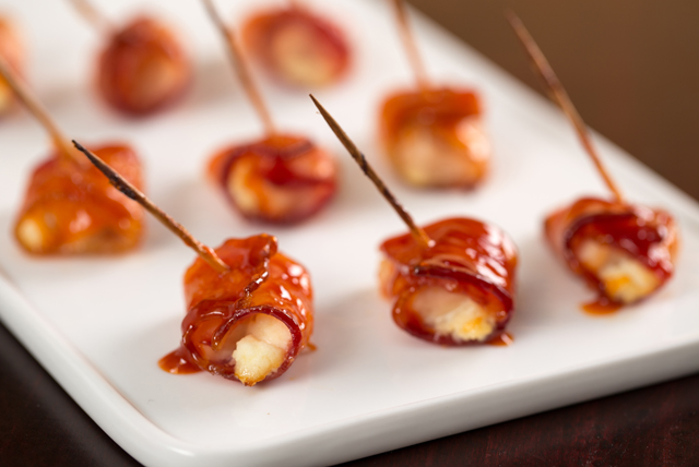 Bacon-Wrapped Buffalo Chicken Bites Image 1
