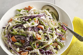 Crisp & Colorful Coleslaw