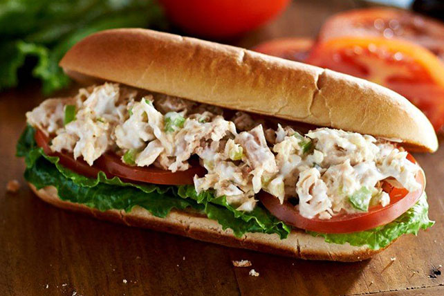 Tuna Salad Sub Sandwiches Image 1