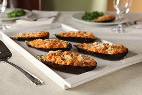 Stuffed Eggplant Parmesan