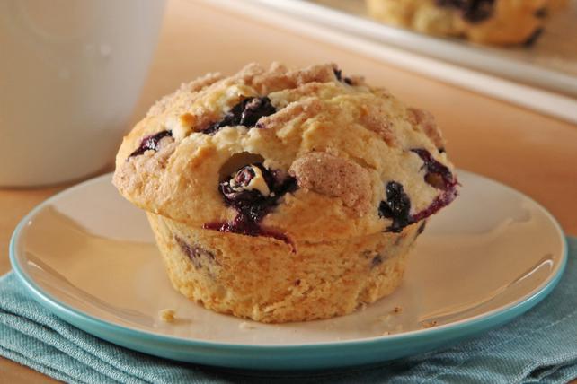 Muffins aux bleuets façon streusel Image 1