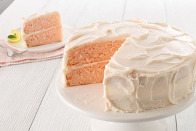 Pink Lemonade Layer Cake Image 1