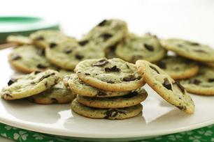 Biscuits aux morceaux de chocolat et à la pistache