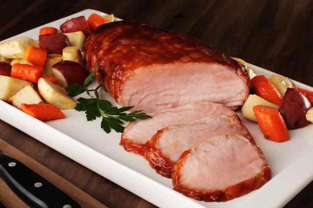 Rôti de porc de style brasserie avec légumes  Image 1