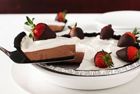 Chocolate-Dipped Strawberry Pie