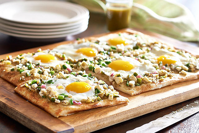 Feta and Poblano Morning Tarts