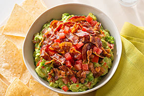 Bacon and Tomato Guacamole